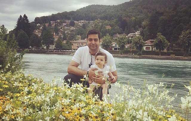 عکس تازه ای از همسر آزاده نامداری و دخترش + عکس