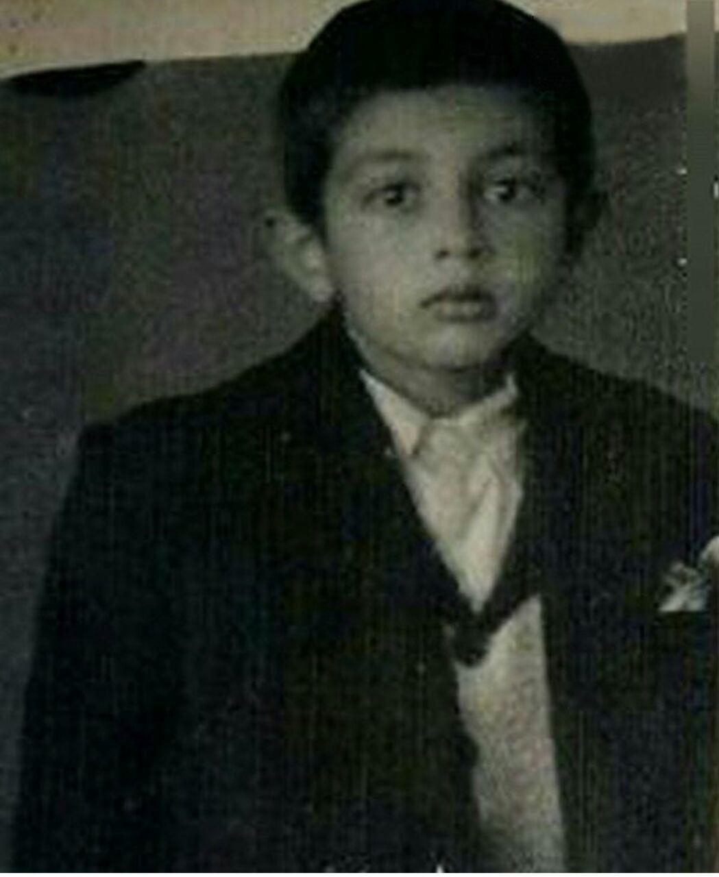 حداد عادل در 9 سالگی+عکس
