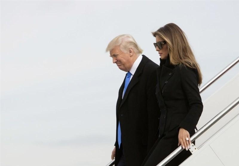 جنجالی که  همسر ترامپ به پاکرد +عکس