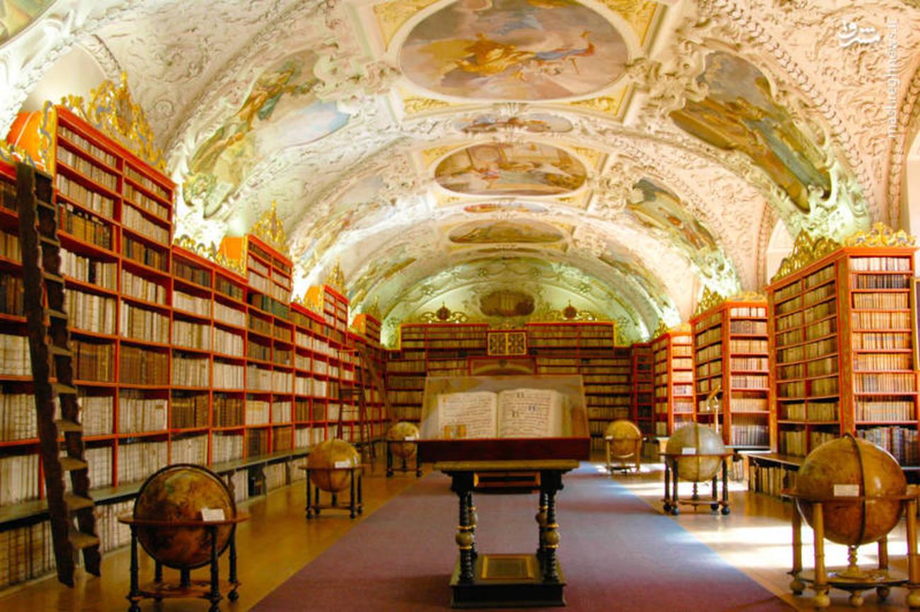 زیباترین کتابخانه جهان+تصاویر