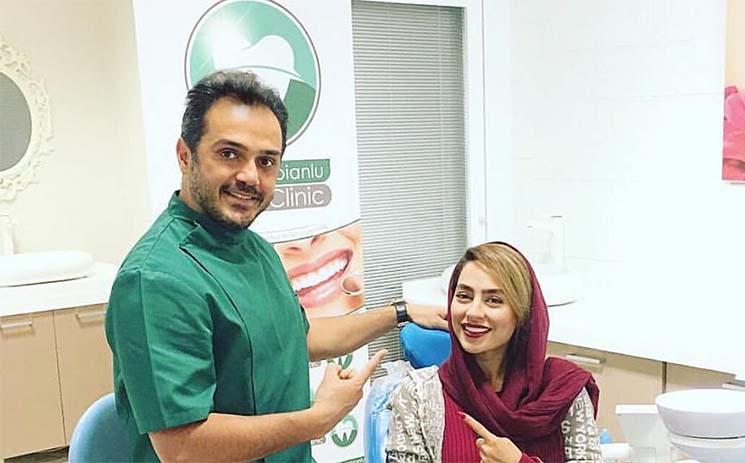 تیپ سمانه پاکدل در مطب دکتر دندانپزشکش! + عکس