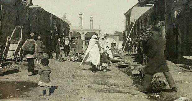دروازه غار تهران در سالهای قدیم! + عکس