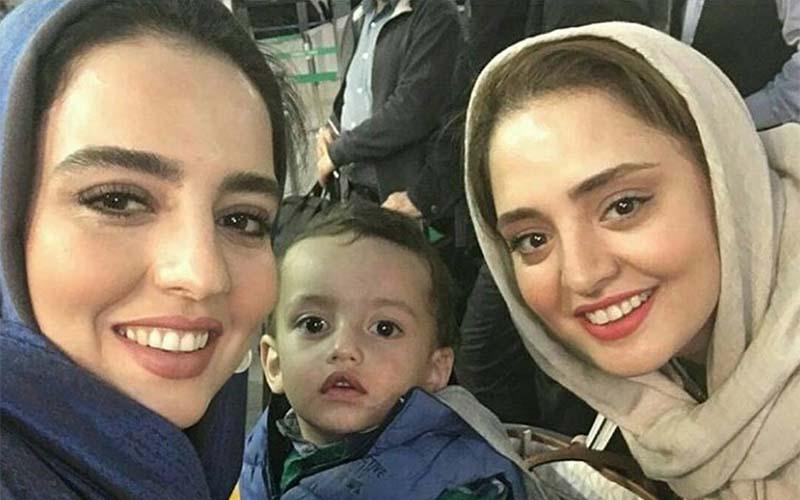 شباهت جالب نرگس محمدی و خواهرش! + عکس