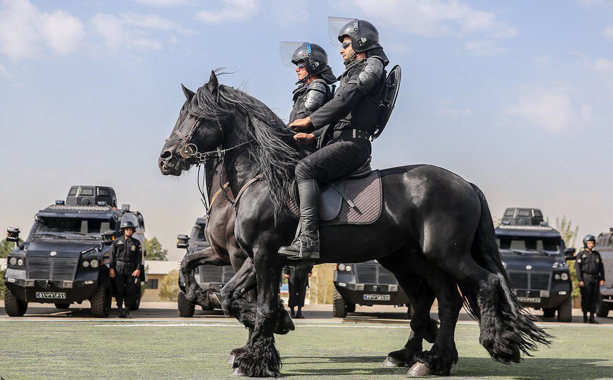 پلیس های اسب سوار ایران! + عکس
