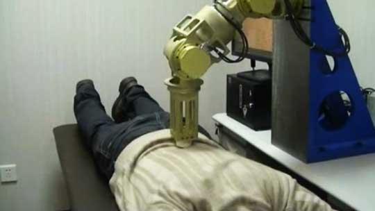 ربات هایی برای ماساژ درمانی