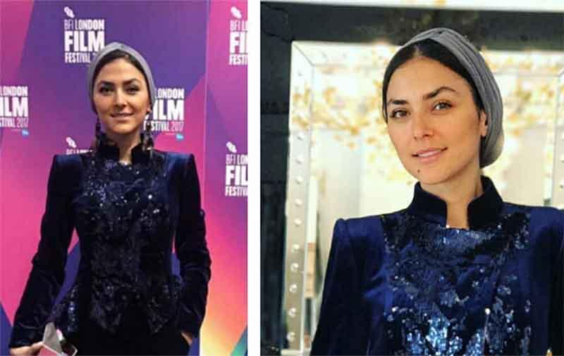 تیپ متفاوت و عجیب هدی زین العابدین در لندن! + عکس