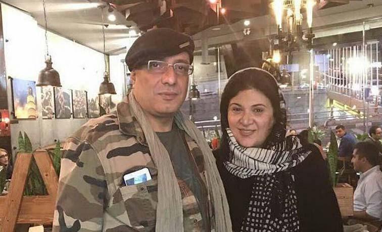 تیپ امیر جعفری و همسرش در یک رستوران شیک! + عکس