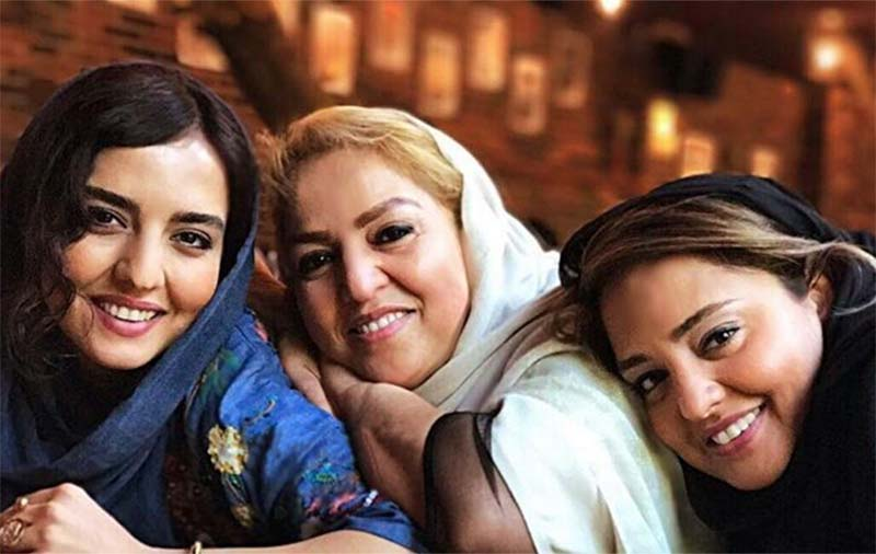 عکس خانوادگی نرگس محمدی به همراه خواهر و مادرش! + عکس