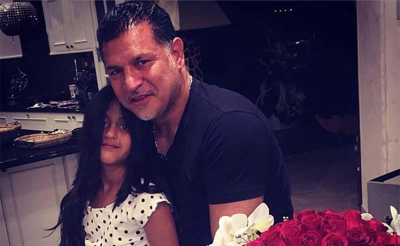 تیپ علی دایی و دخترش در یک مهمانی!  عکس