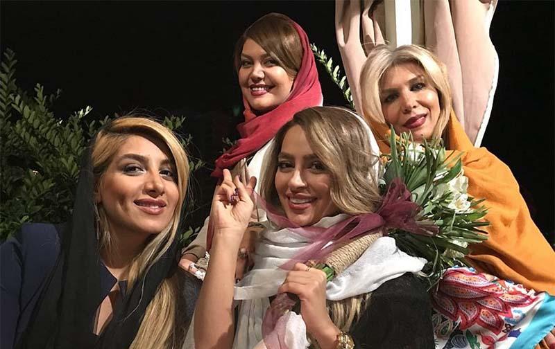 تیپ خانم های حاضر در جشن تولد دیشب سمانه پاکدل! + عکس