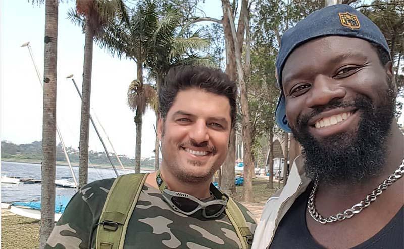 خوشگذرانی سام درخشانی در برزیل! + عکس