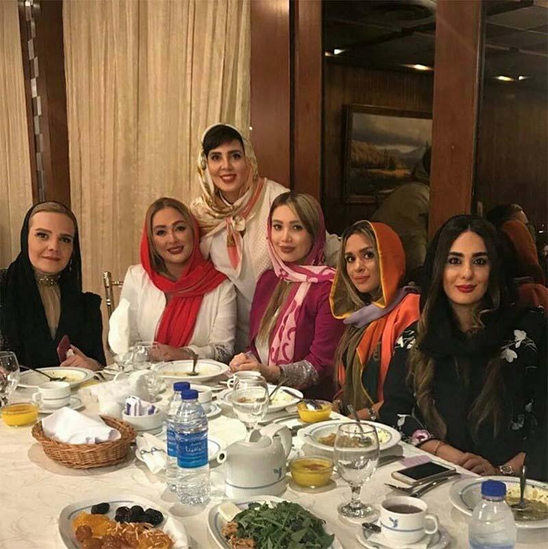 تیپ متفاوت خانم های بازیگر در یک مهمانی! + عکس