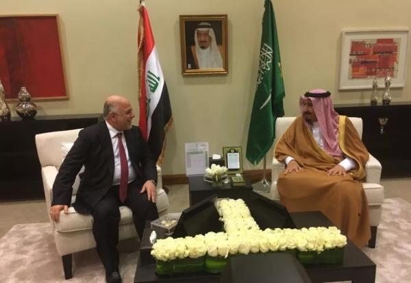 تصاویر دیدار غیر منتظره دو رهبر عربی رقیب در عربستان