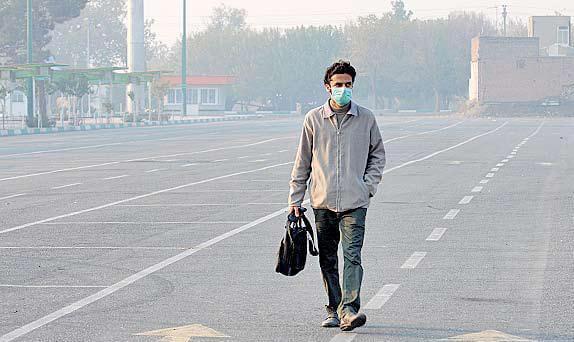 هوای تهران در آستانه شرایط ناسالم برای گروههای حساس