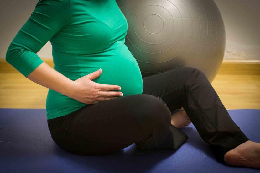 روشی موثر برای تقویت عضلات شکم در دوران حاملگی