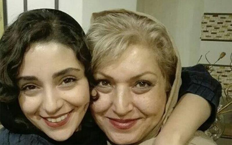 تیپ هستی مهدوی و مادرش در آغوش یکدیگر! + عکس