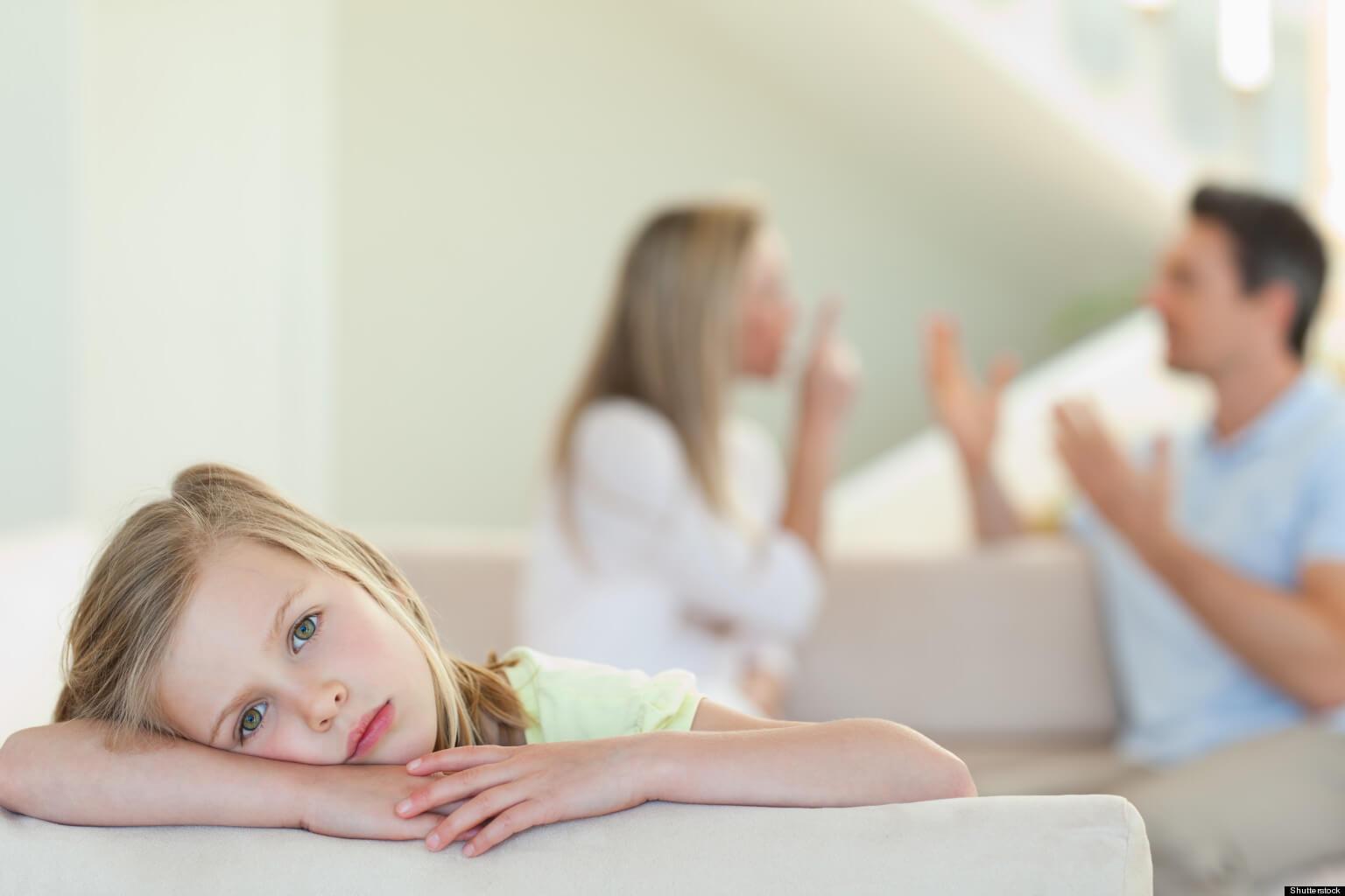 بر سر تربیت بچه با هم دعوا نکنید