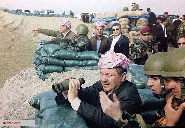 شروط بارزانی برای استعفا از ریاست اقلیم کردستان+عکس