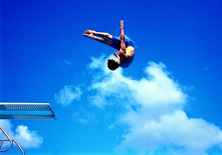 ورزشکاران شیرجه در معرض آسیب دیدگی های شدید