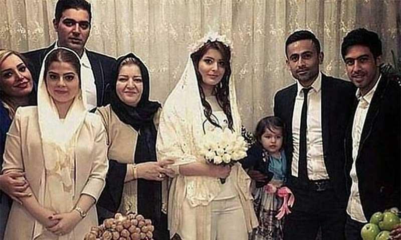 عکس منتشر شده از مراسم عقد بازیکن استقلال!  (عکس)