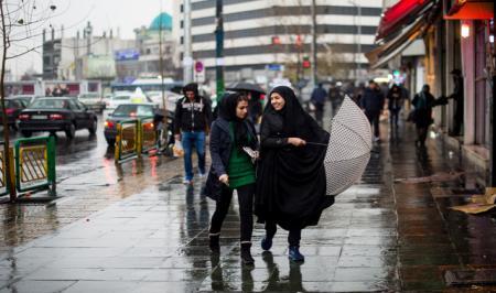 کاهش ۳ تا ۸ درجهای دما و بارش باران در برخی مناطق کشور