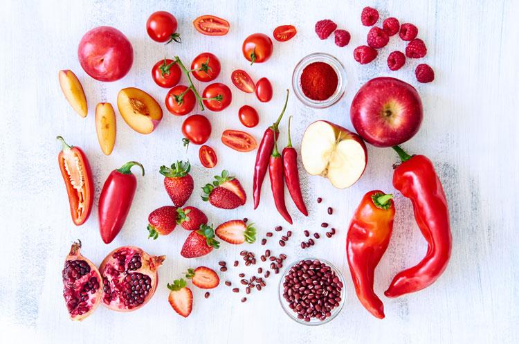 معجزه سبزیجات قرمز رنگ در مقابله با سرطان + اینفوگرافیک