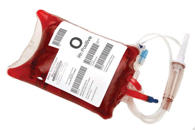 برای کمک به زلزله زدگان به گروه خونی O منفی نیازمندیم