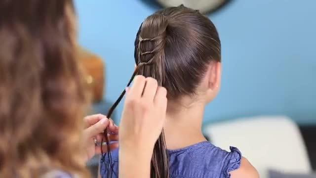 هشدار به خانمها:  موهای خود را دم اسبی نبندید
