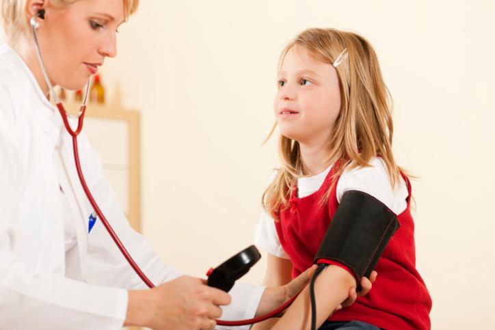 علائم فشار خون بالا در کودکان
