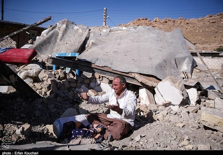 گورهای دستهجمعی در روستاهای زلزلهزده + عکس