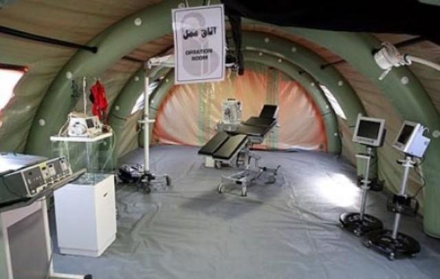 استقرار هشتمین بیمارستان صحرایی از فردا