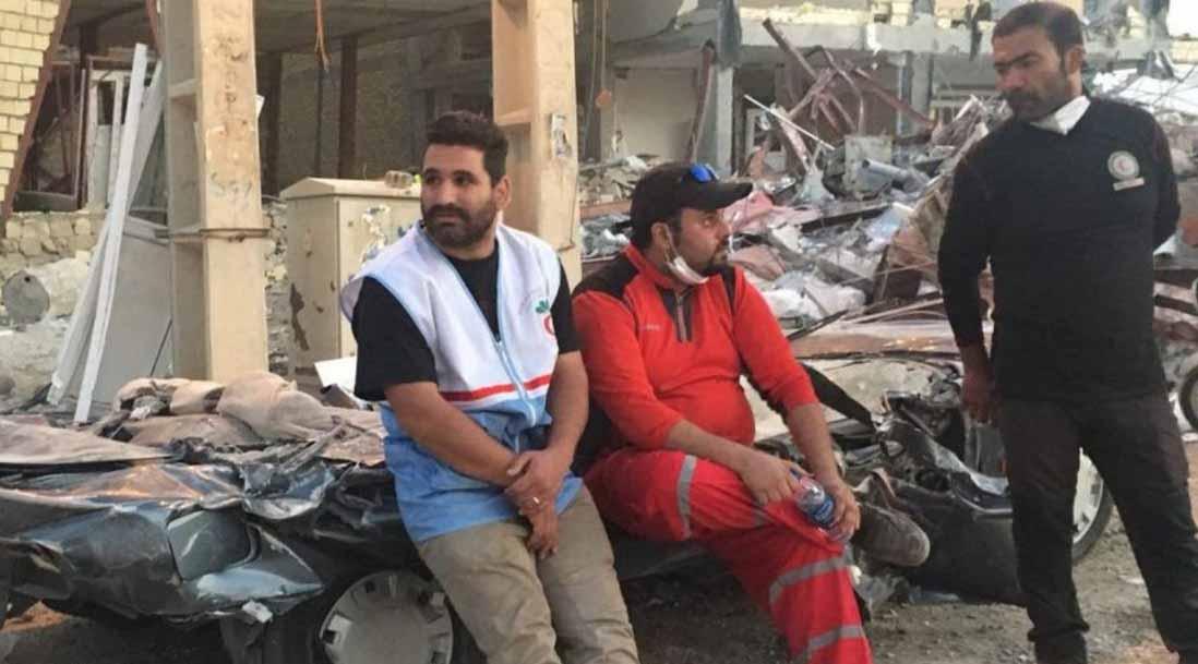 استفاده بهینه از پژوی له شده در مناطق زلزله زده! + عکس