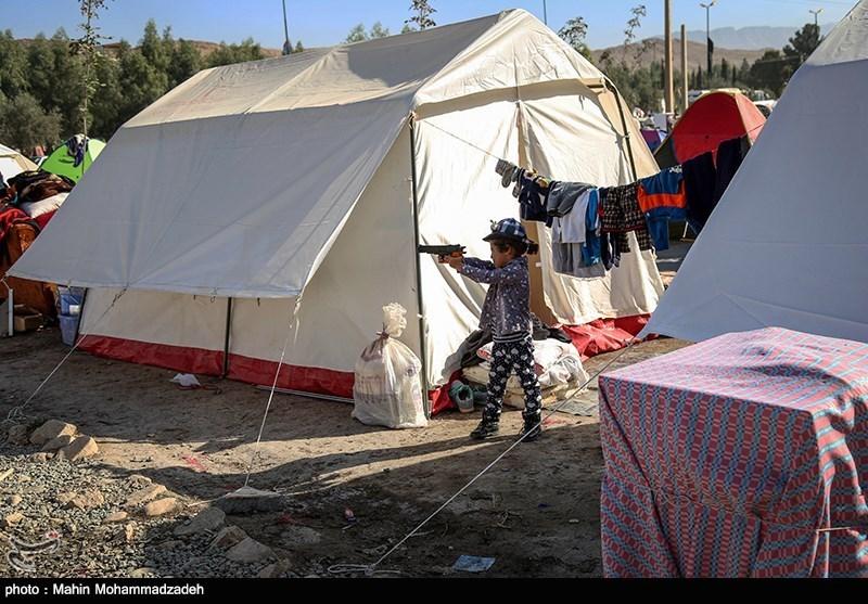 آمار چادرهای توزیعشده در کرمانشاه از ۷۵هزار عبور کرد
