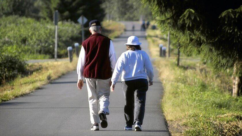 افزایش توانایی فیزیکی سالمندان با ۷ دقیقه پیادهروی در روز