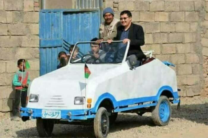 نخستین خودروی ملی افغانستان! + تصاویر