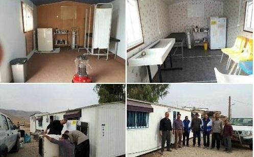 صد در صد مراکز بهداشتی مناطق زلزله زده فعال شدند