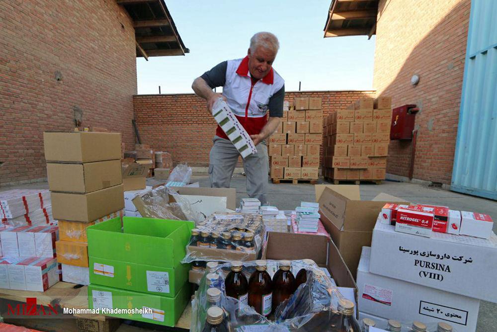 ارسال دومین موج کمکهای دارویی به مناطق زلزلهزده
