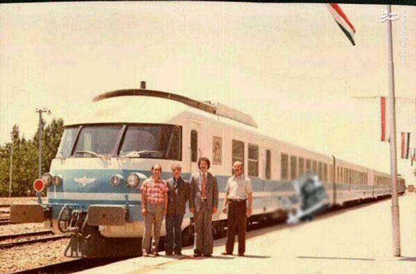 اولین قطار مسافری سریع السیر در ایران + عکس