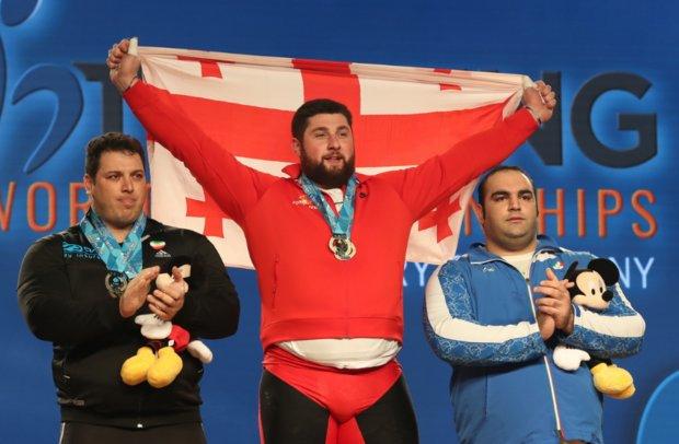 وزنه برداری ایران قهرمان جهان شد