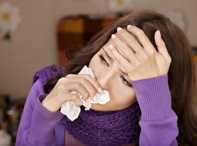 اینفوگرافیک؛ راه های درمان سریع آنفولانزا و سرماخوردگی
