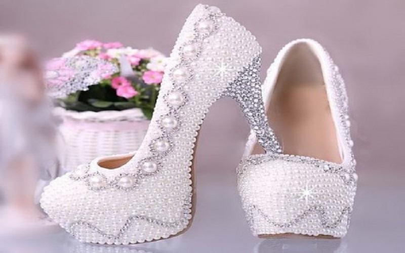 جدیدترین مدلهای کفش عروس