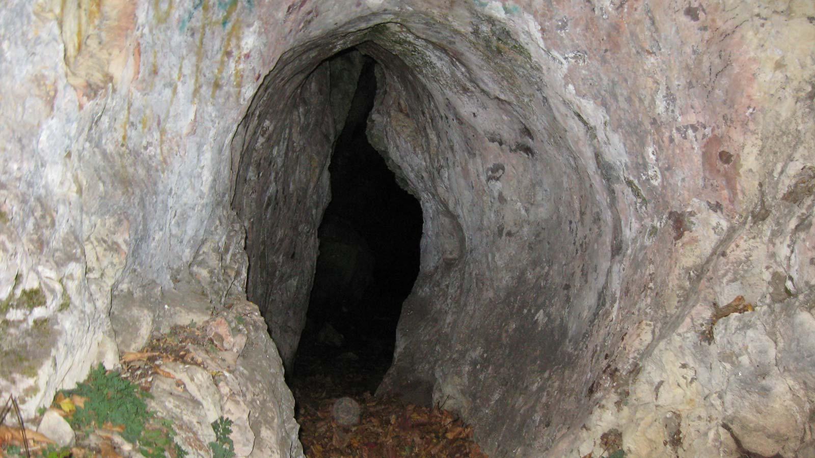 نجات گردشگران گرفتار در غار