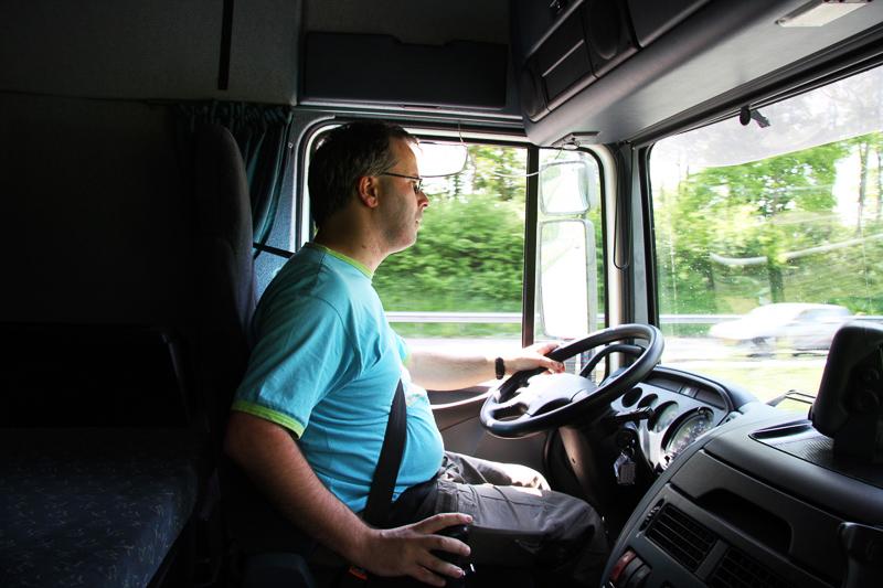 مرگ خاموش در کمین راننده های کامیون