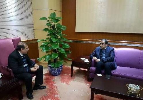 وزیر بهداشت وارد پکن شد