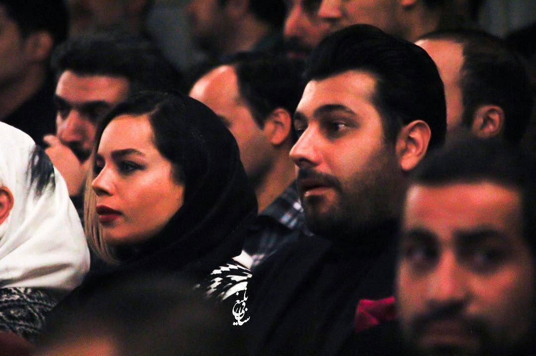 خواننده معروف پاپ و همسرش دیشب در یک مراسم! + عکس