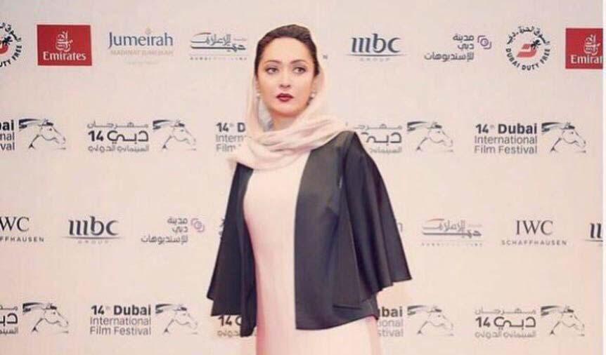 تیپ متفاوت نیکی کریمی در دوبی! + عکس
