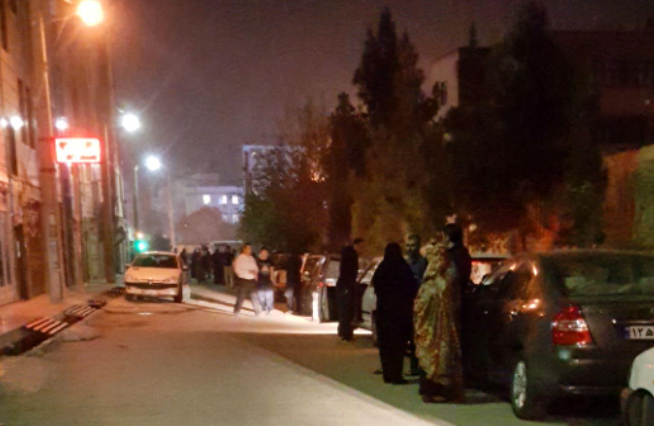 وضعیت مردم شهرستان های تهران پس از زلزله + عکس