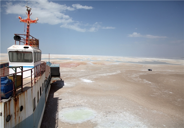 دومین دریاچه شور جهان به تاریخ می پیوندد
