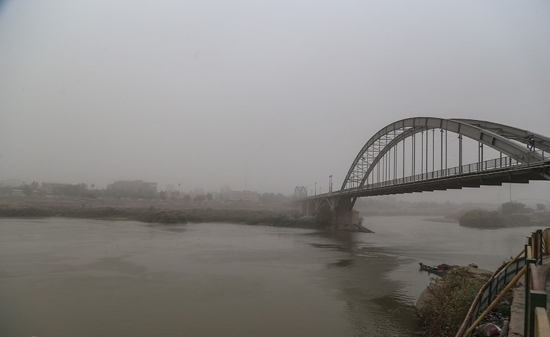 کیفیت هوای اهواز در شرایط خطرناک قرار گرفت