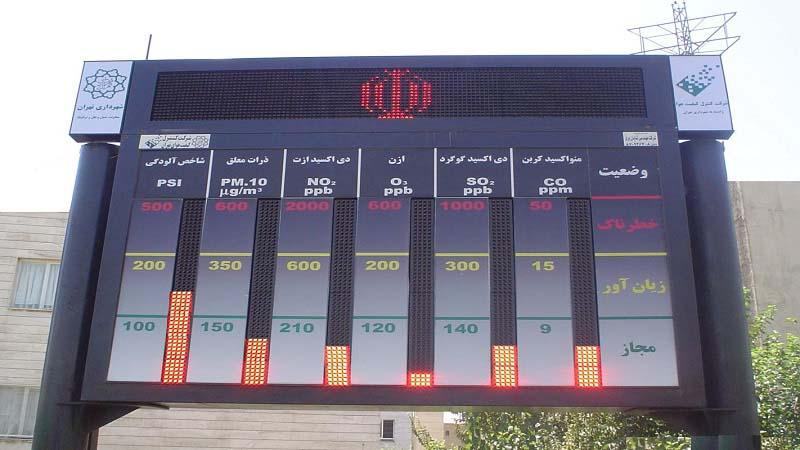 پهنهبندی تهران؛ راهکاری دقیق برای پایش آلودگی مناطق
